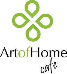 logo cafe art of home
